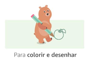 Para colorir e desenhar