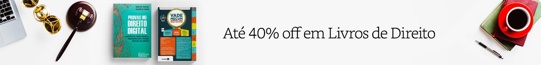Até 40% off em Livros | Especial Direito