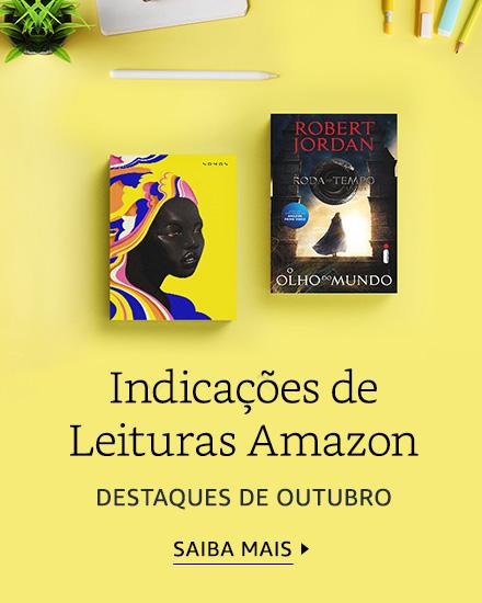 Indicações de Leituras Amazon - Destaques de Outubro