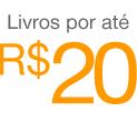 Livros por até R$20