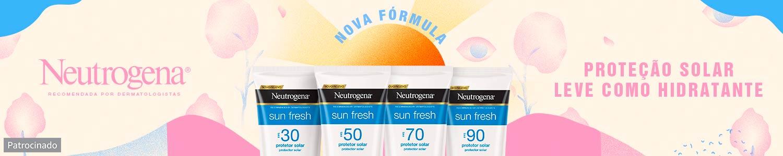 Neutrogena: proteção solar leve como hidratante