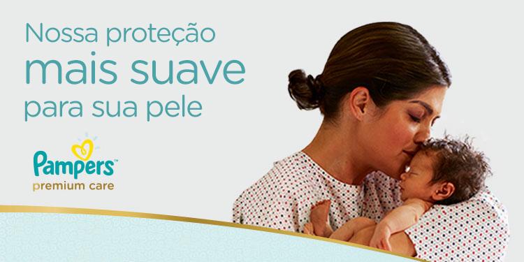 Pampers Premium Care - Nossa proteção mais suave para sua pele