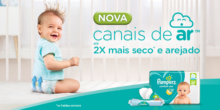 Pampers Confort Sec