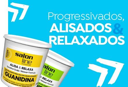 Progressivados, alisados e relaxados