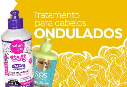Tratamento para cabelos ondulados