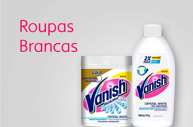 Vanish roupas Brancas