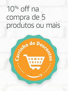 Carrinho de Descontos -10% off na compra de 5 produtos ou mais
