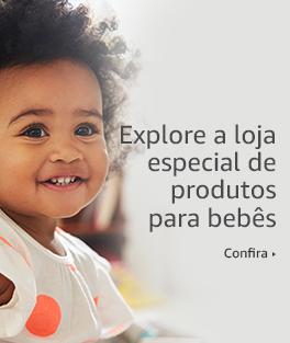 Explore a loja especial de produtos para bebês