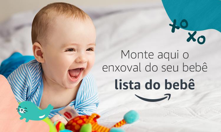 Crie a sua Lista do Bebê