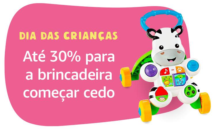 Até 30% off em brinquedos para Bebê