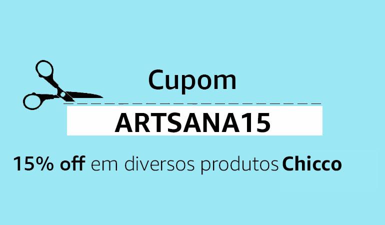 Cupom ARTSANA15