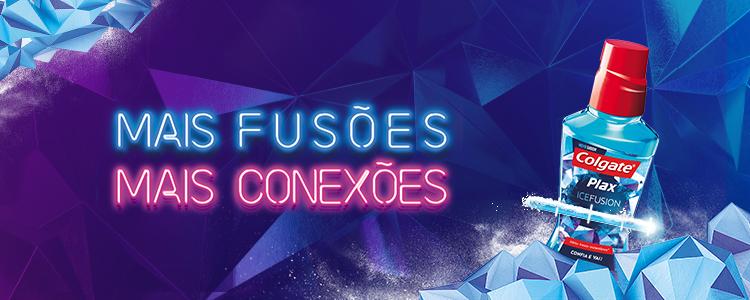 Colgate Plax Ice Fusion - Mais fusões Mais conexões