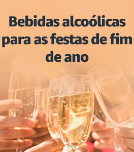 Bebidas alcoólicas para o fim de ano