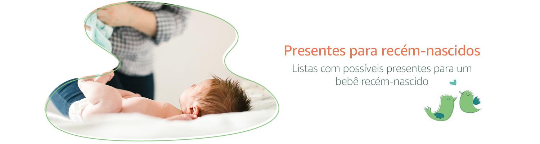 presentes para recem nascidos