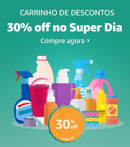 Carrinho de Descontos -30% off na compra de 5 produtos ou mais