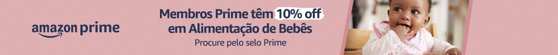 Membros Prime tem 10% off em alimentação de bebês
