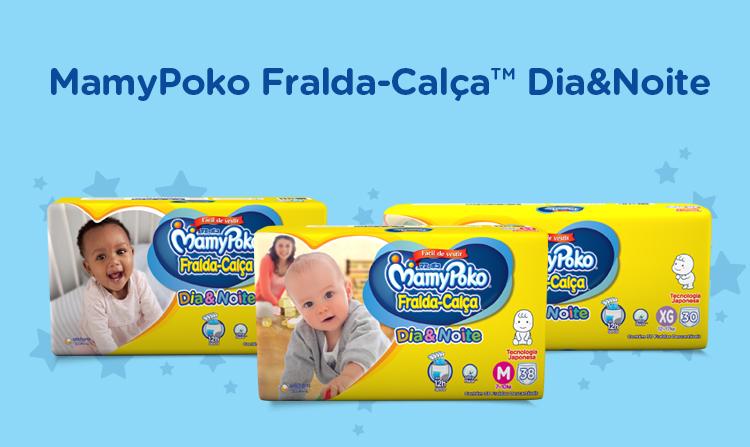 MamyPoko Fralda-Calça Dia&Noite