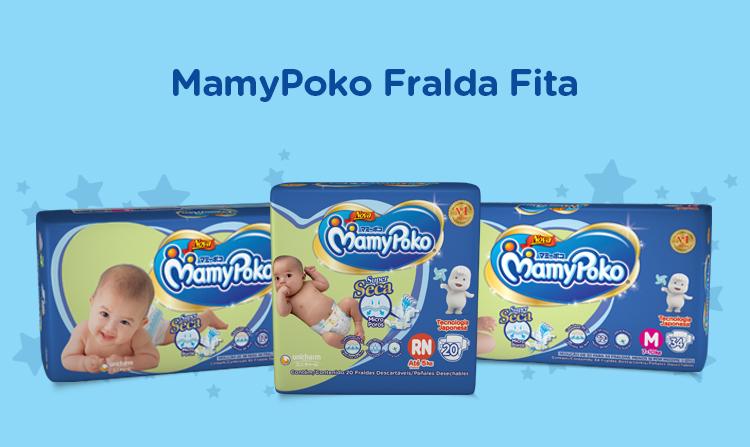 MamyPoko Fralda Fita