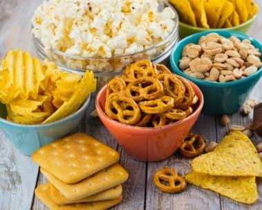 Snacks e doces até R$50 com frete GRÁTIS