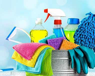 Produtos de limpeza até R$15
