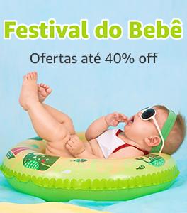 40% off no festival do bebê