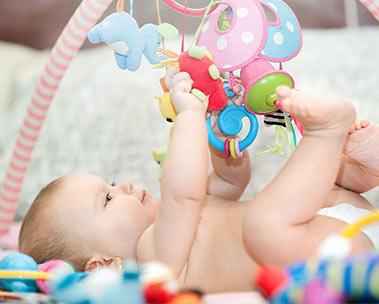 Atividades para bebês até R$150