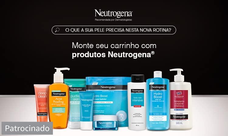Monte seu carrinho com produtos Neutrogena. Patrocinado.