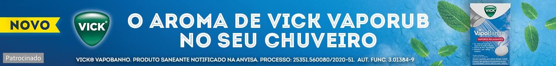 Vick VapoBanho. Patrocinado