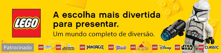 Lego. Patrocinado.