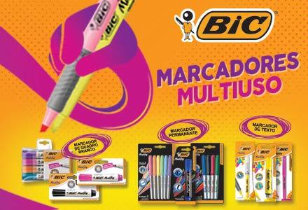 Grande variedade de marcadores