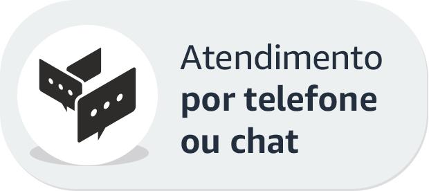 Atendimento por telefone ou chat