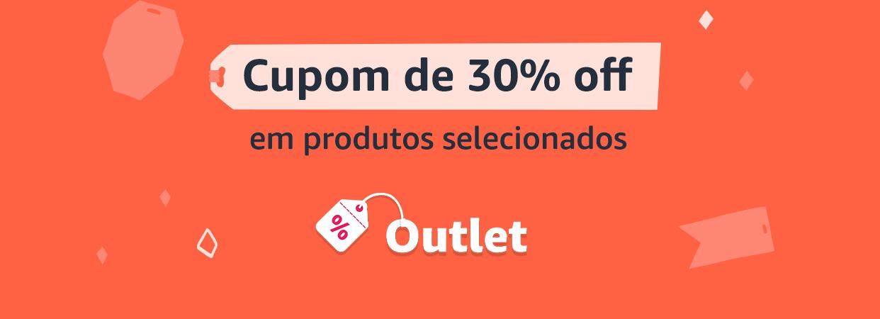 Cupom de 30% off em produtos selecionados