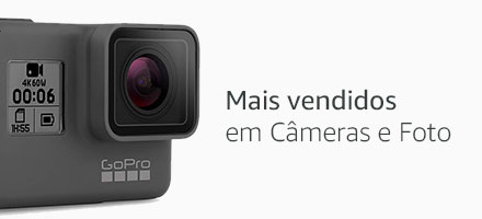 Mais Vendidos em Câmeras e Foto