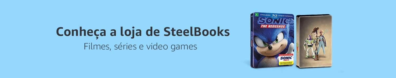 Conheça a loja de SteelBooks