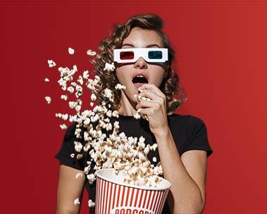 Sessão Pipoca - Ofertas para os apaixonados por filmes e séries