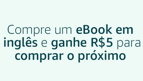 Compre um eBook em inglês e ganhe R$5 para comprar o próximo