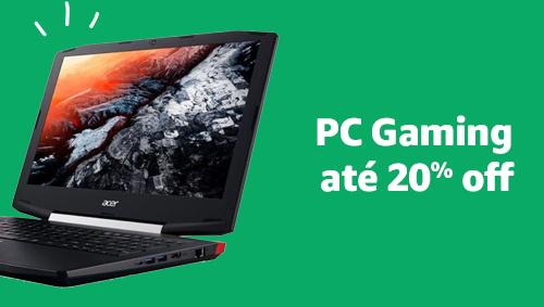 PC Gaming até 30% off