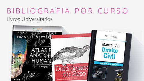 Bibliografia por curso: Livros universitários