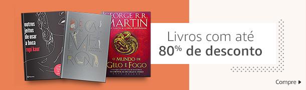 Livros com até 80% de desconto