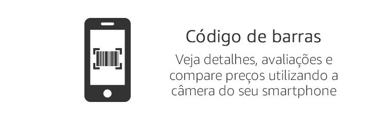 Código de barras - Veja detalhes, avaliações, e compare preços utilizando a câmera do seu smartphone.