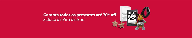 Garanta todos os presentes até 70% off - Saldão de fim de ano
