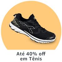 Até 40% off em Tênis