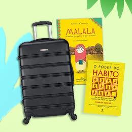 Prepare-se para as férias: Confira produtos para viajar ou curtir em casa.