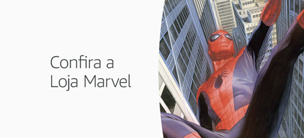 Confira a Loja Marvel