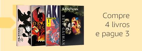 Compre 4 livros e pague 3
