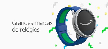 Casio, Monte Carlo, Technos e mais. Confira nossa seleção de relógios.