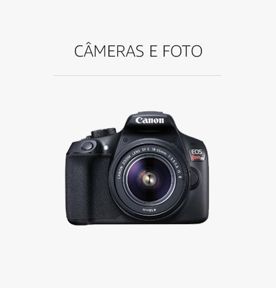 Câmeras e Foto com Desconto