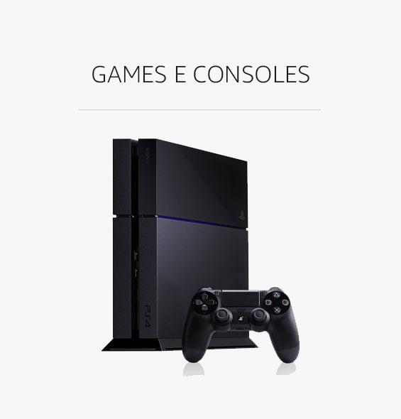 Games e Consoles com Desconto