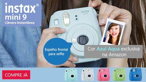 Instax Mini 9 azul aqua