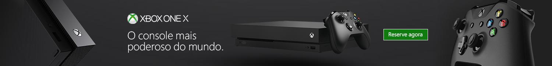 Xbox One X Pré-Venda